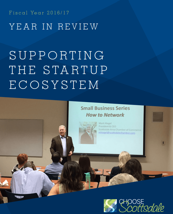 Supporting the Startup Ecosystem Report Cover